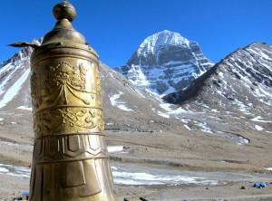 Kailash 2013 Gebetsmühle